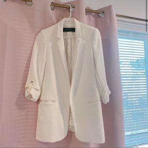 Zara white blazer size xs